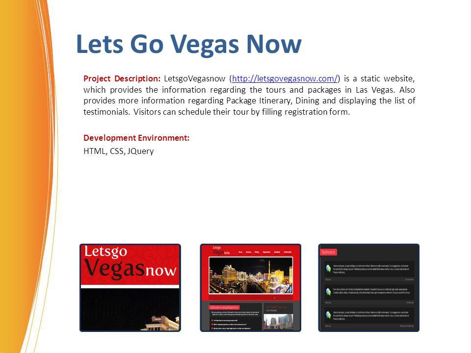 Lets Go Vegas Now