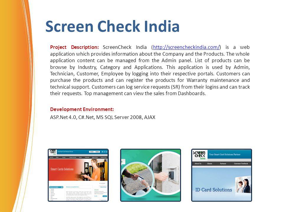 Screen Check India