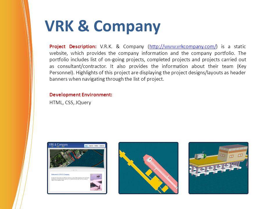 VRK & Company