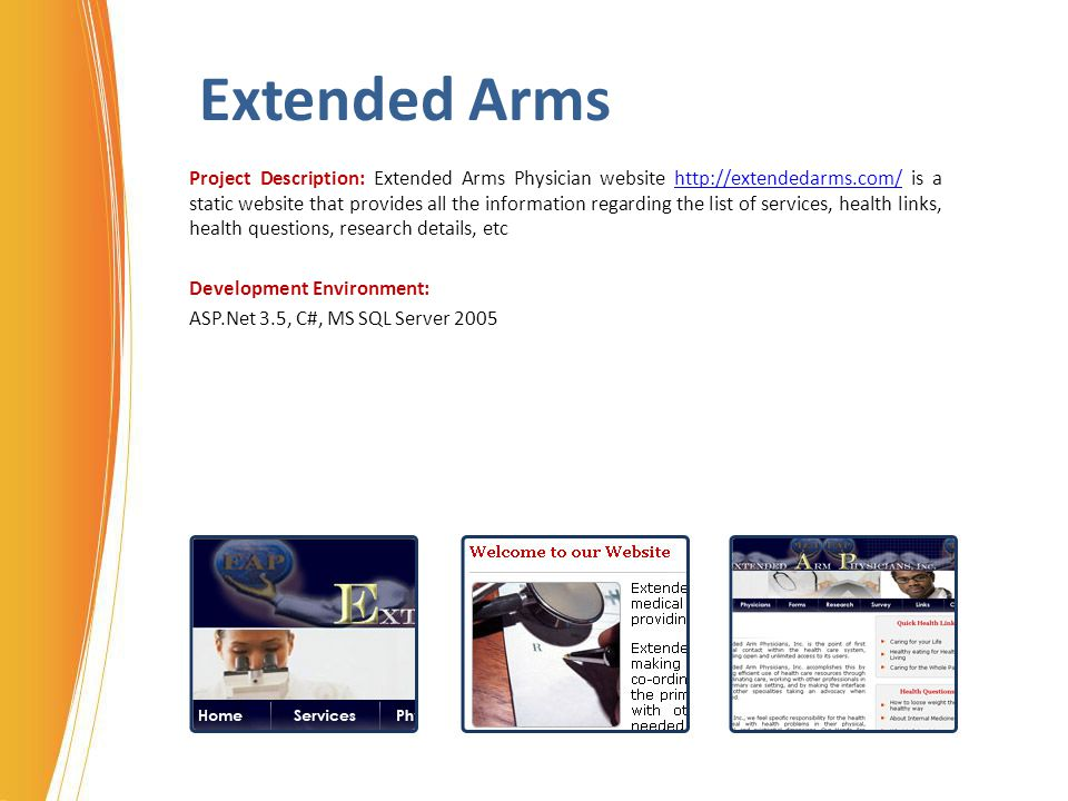 Extended Arms