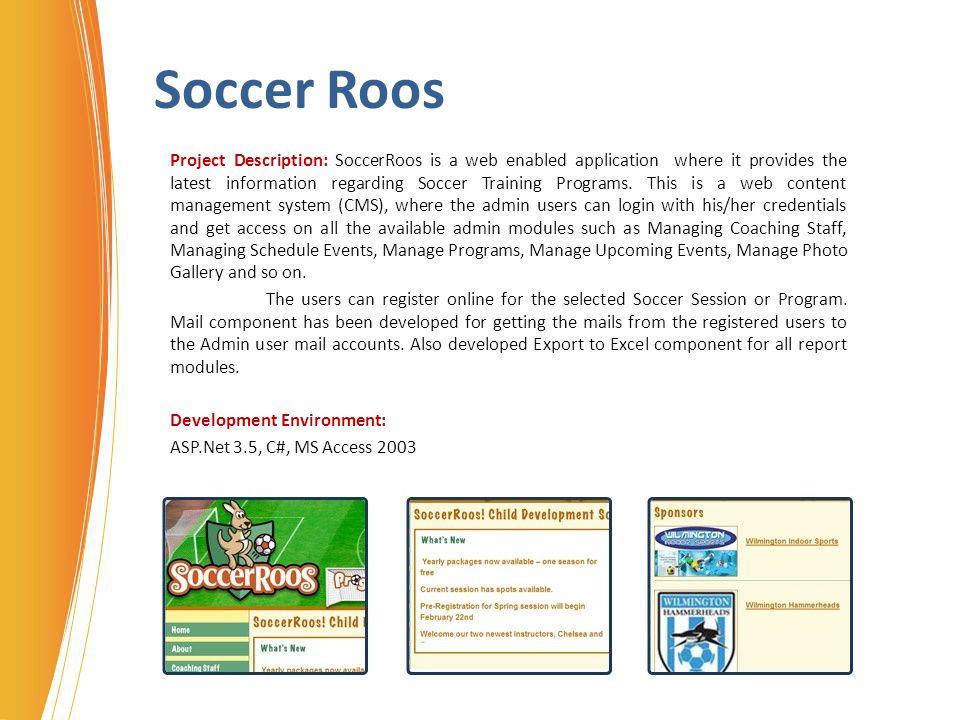 Soccer Roos