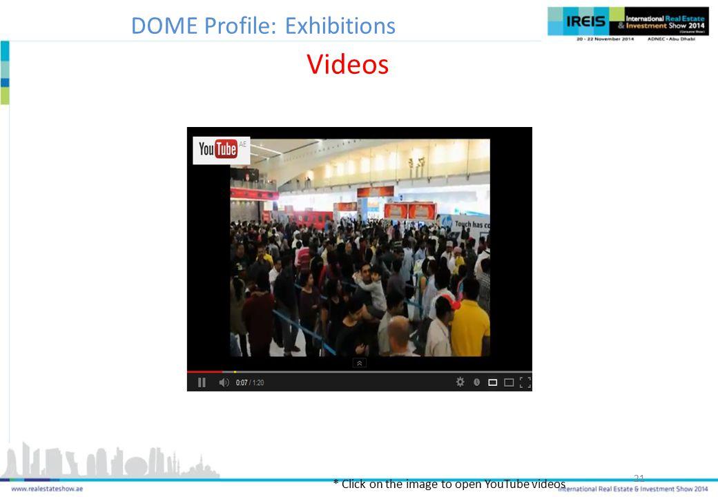 DOME Profile: Exhibitions
