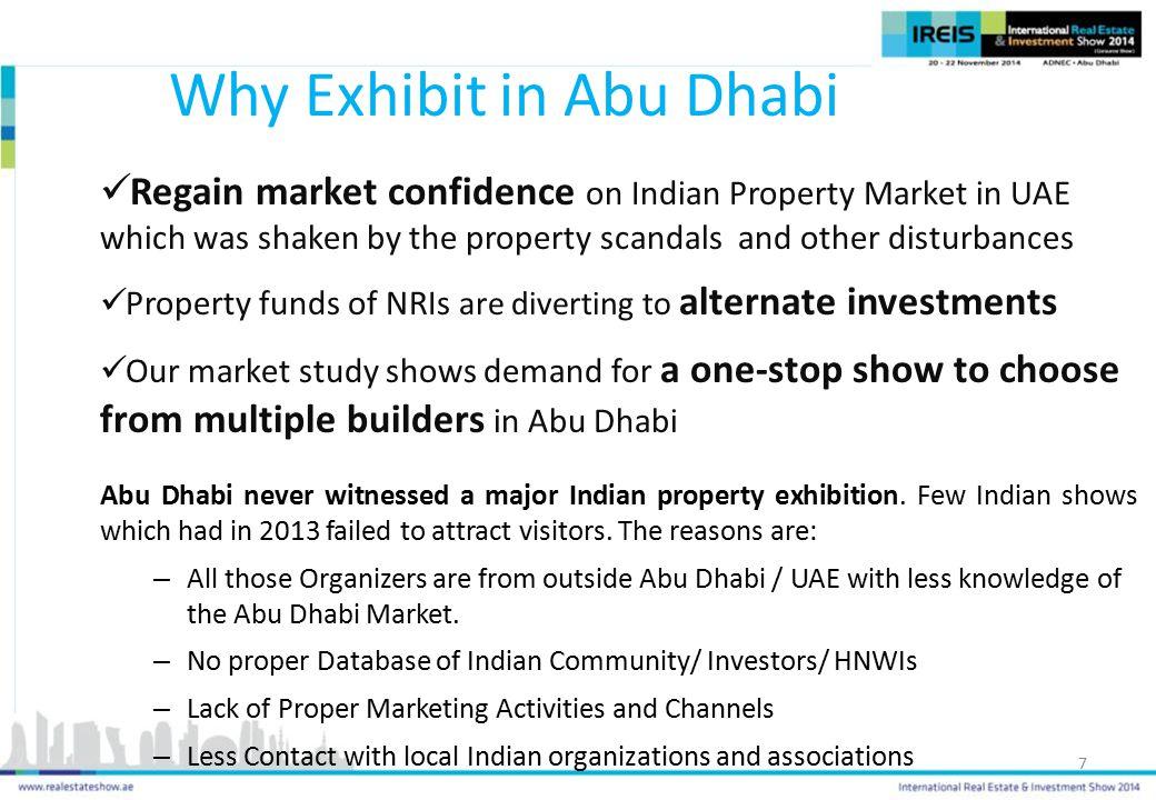 Why Exhibit in Abu Dhabi
