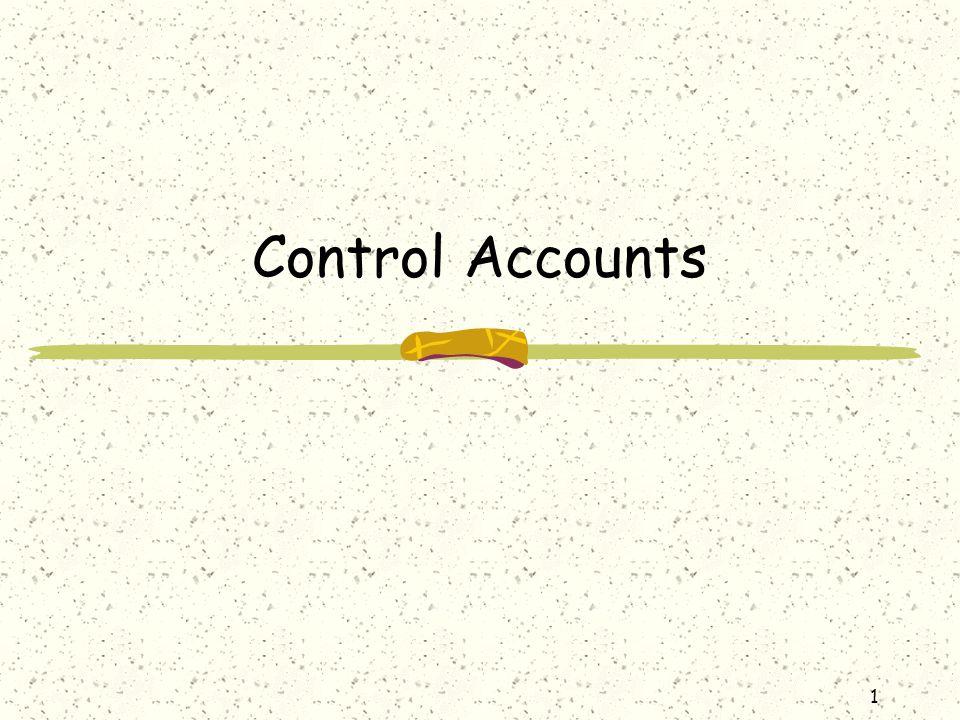 Control Accounts