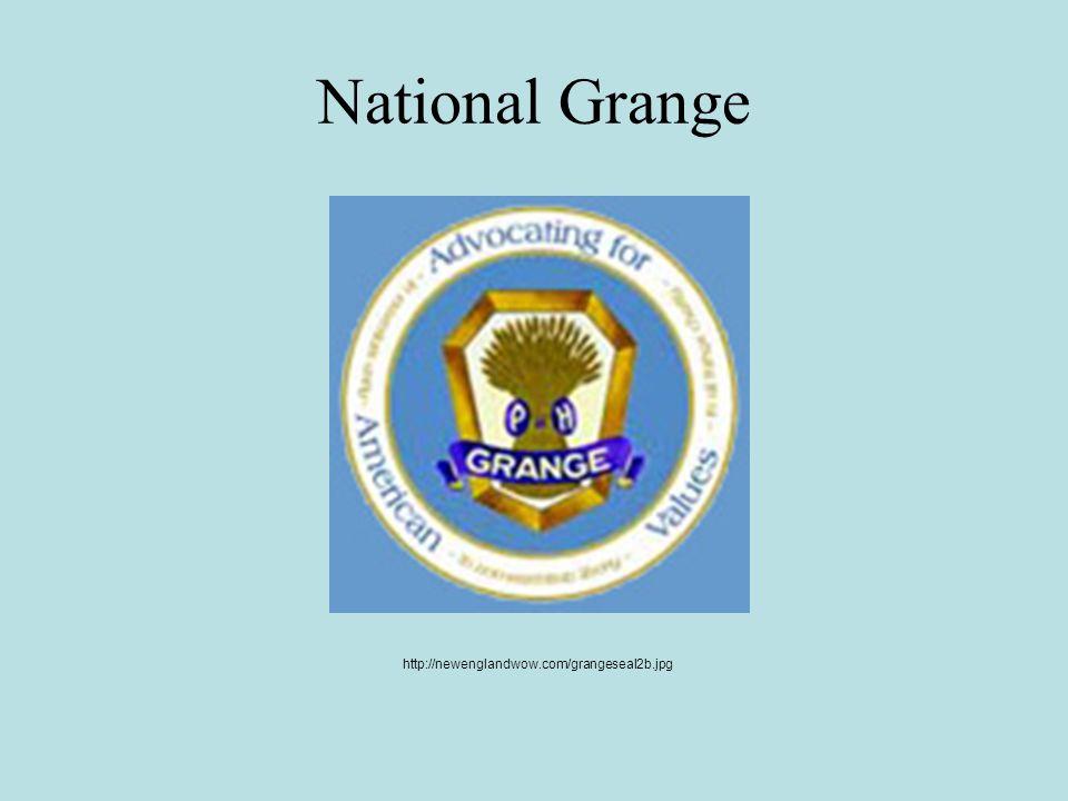 National Grange http://newenglandwow.com/grangeseal2b.jpg
