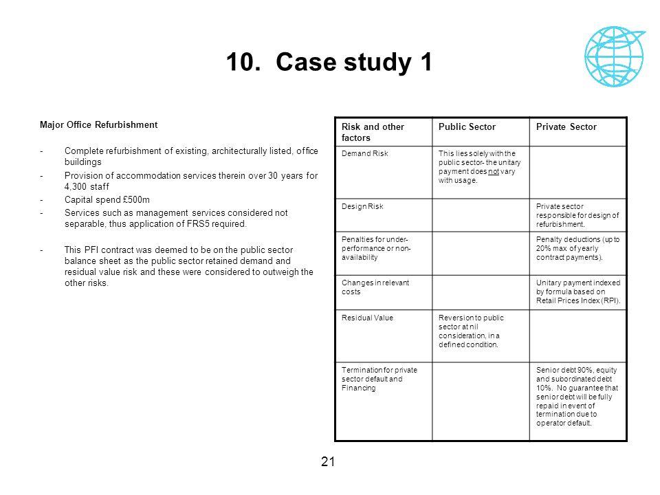 10. Case study 1 Major Office Refurbishment
