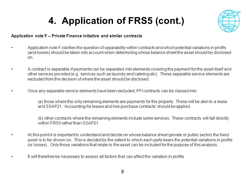 4. Application of FRS5 (cont.)