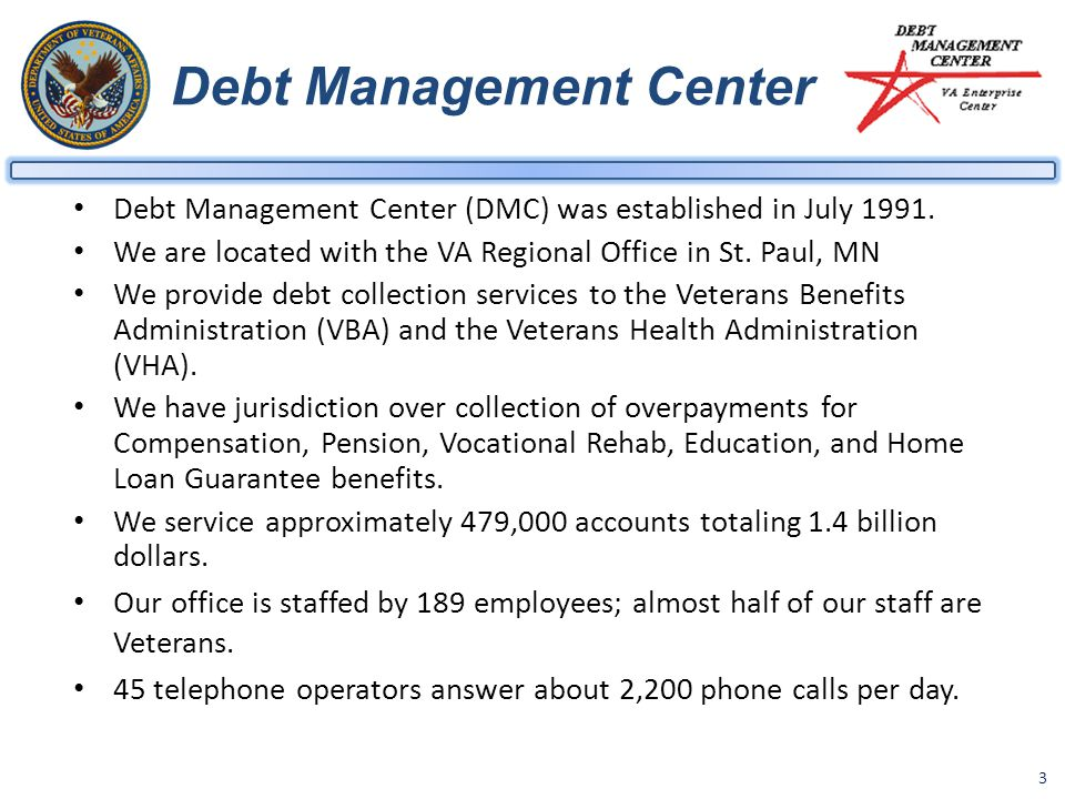 Debt Management Center