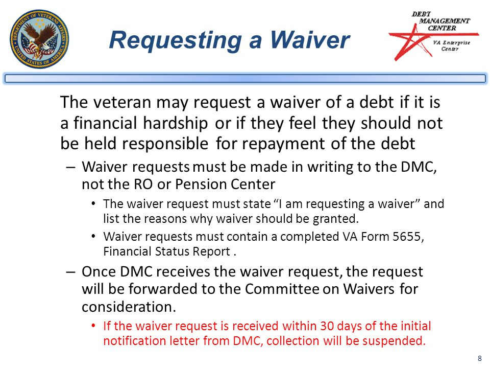 Requesting a Waiver