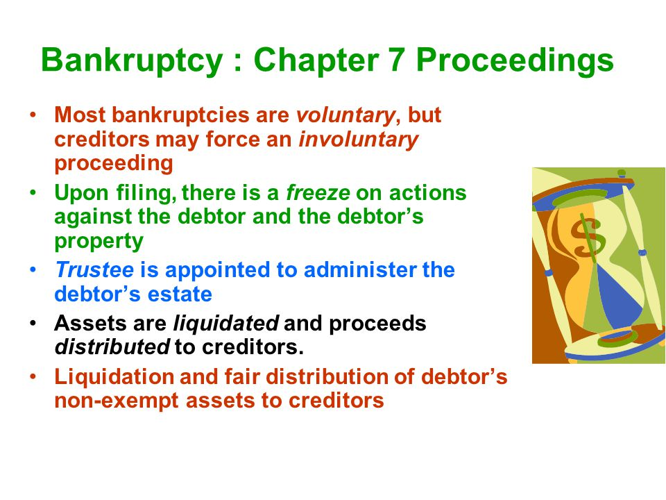 Bankruptcy : Chapter 7 Proceedings