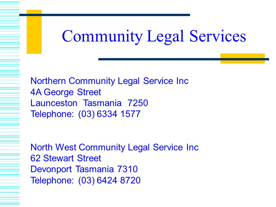 Community Legal Services