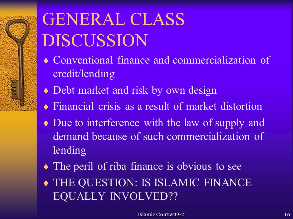 GENERAL CLASS DISCUSSION