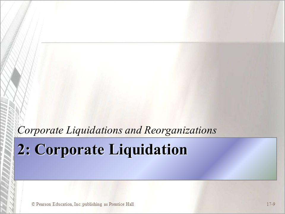 2: Corporate Liquidation