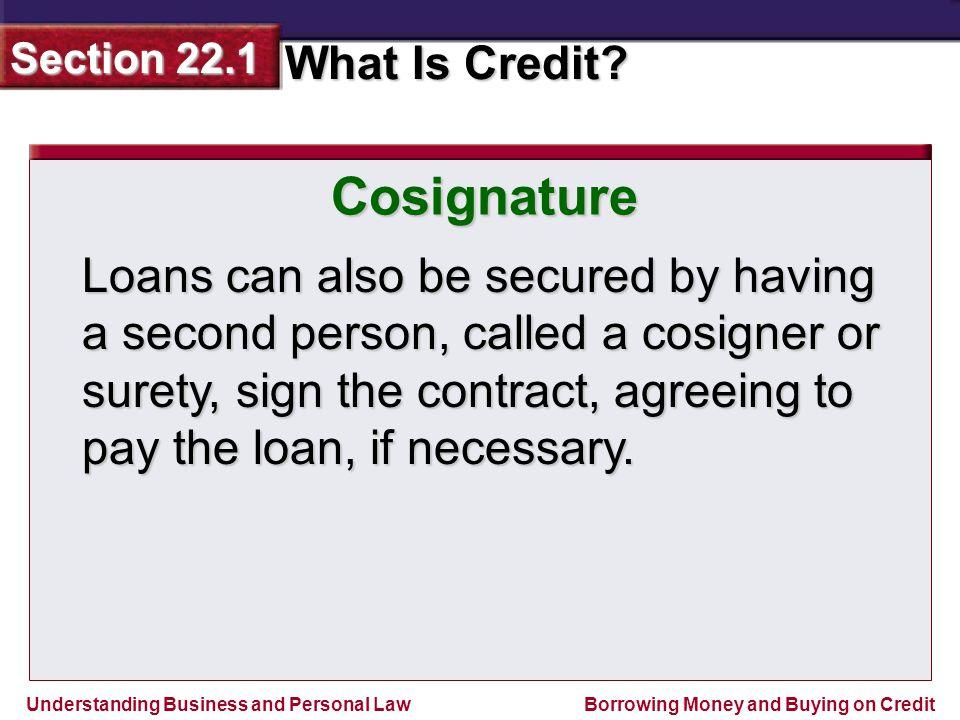 Cosignature