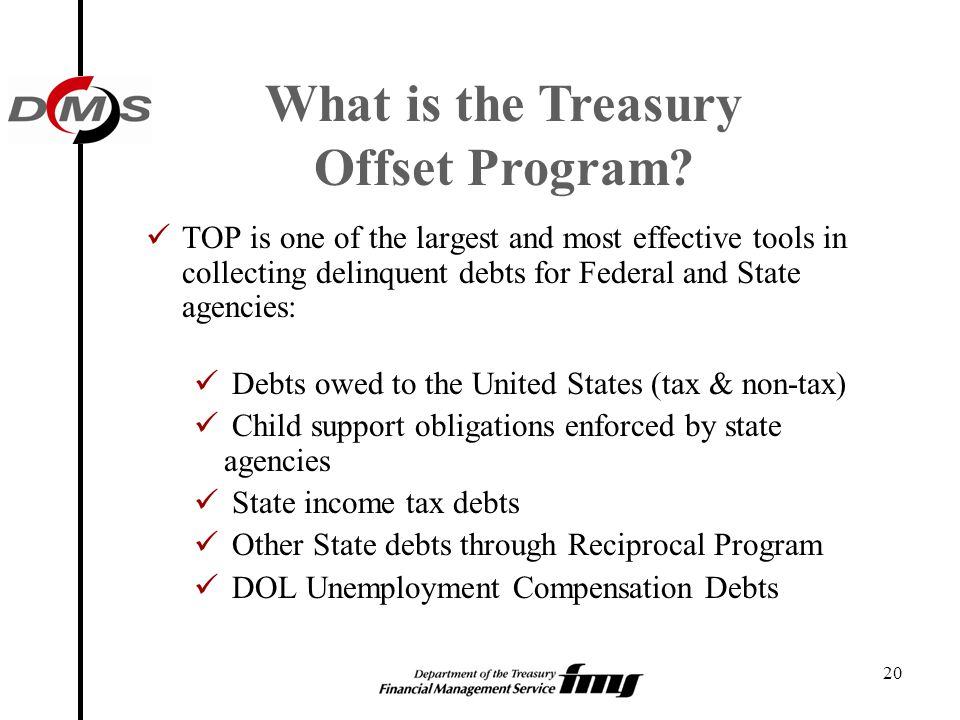 What is the Treasury Offset Program