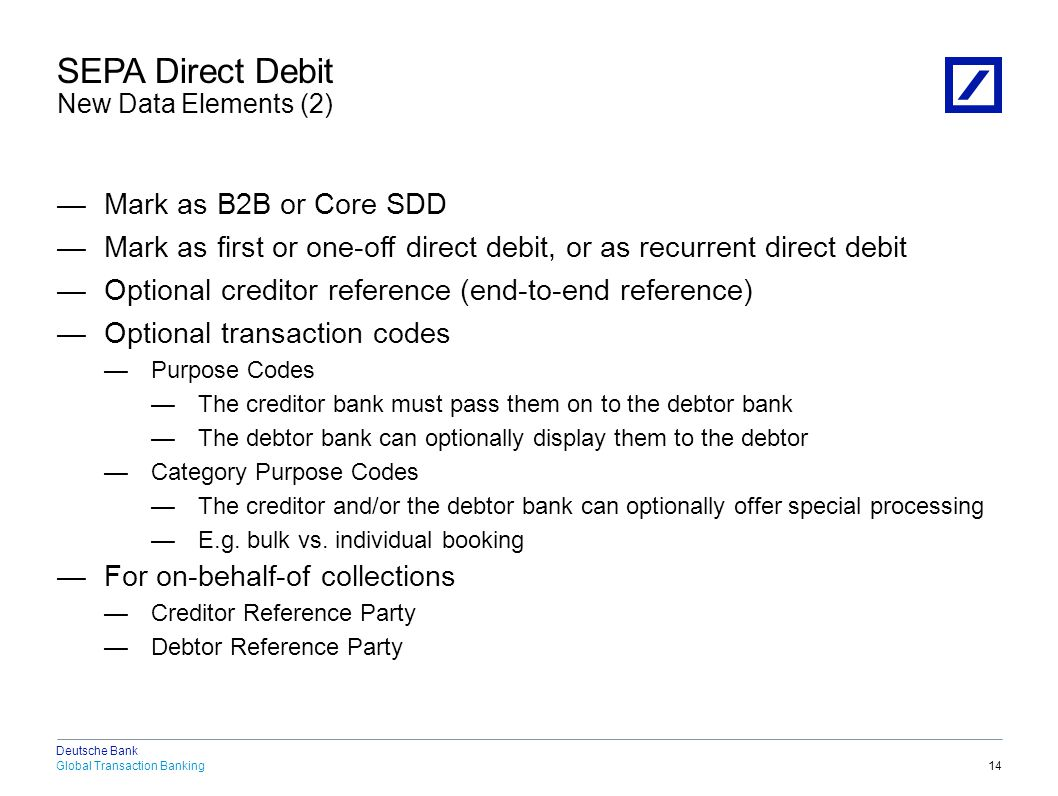SEPA Direct Debit Core vs. B2B Scheme: Main Differences (1)