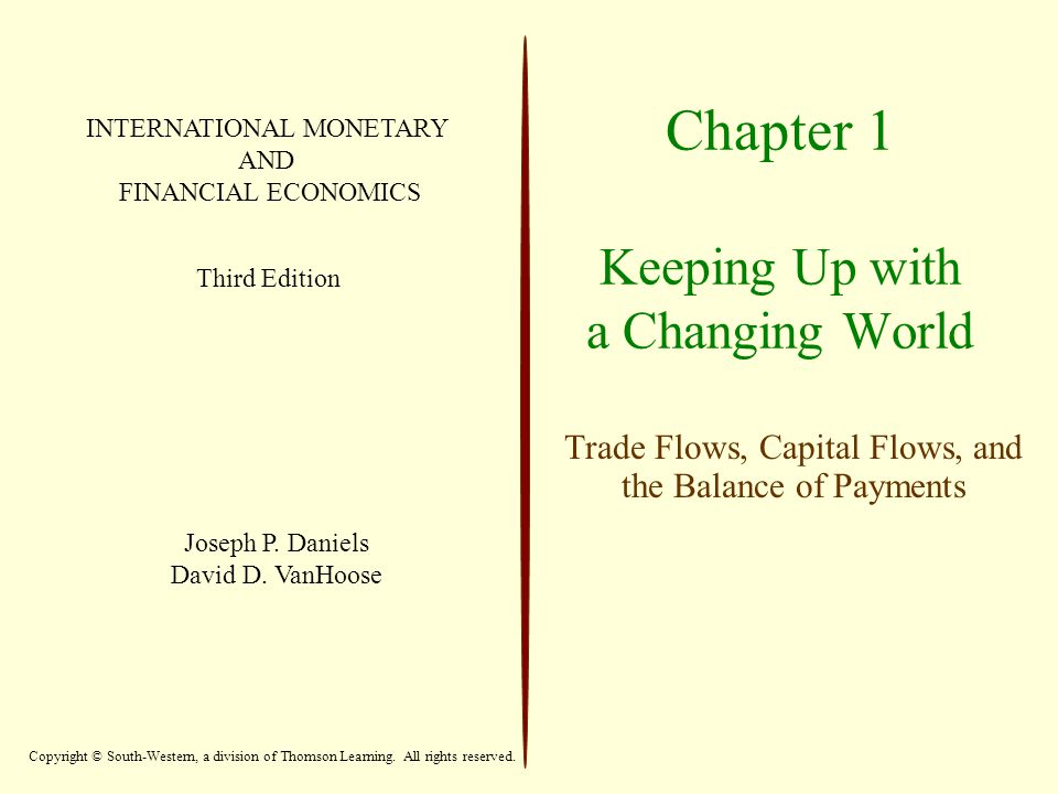 Chapter 1 Keeping Up with a Changing World