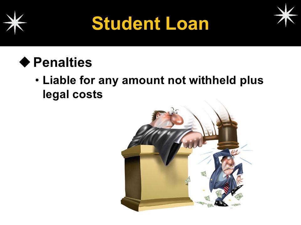 Student Loan Penalties
