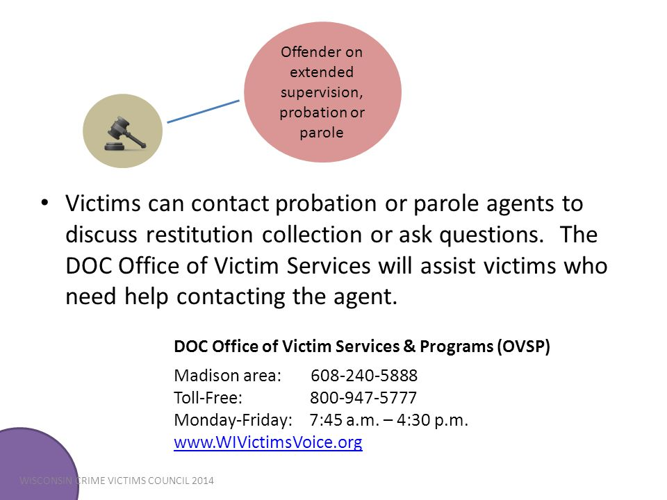 DOC Office of Victim Services & Programs (OVSP)
