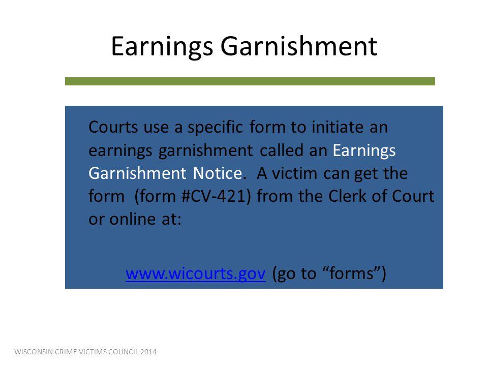 Earnings Garnishment