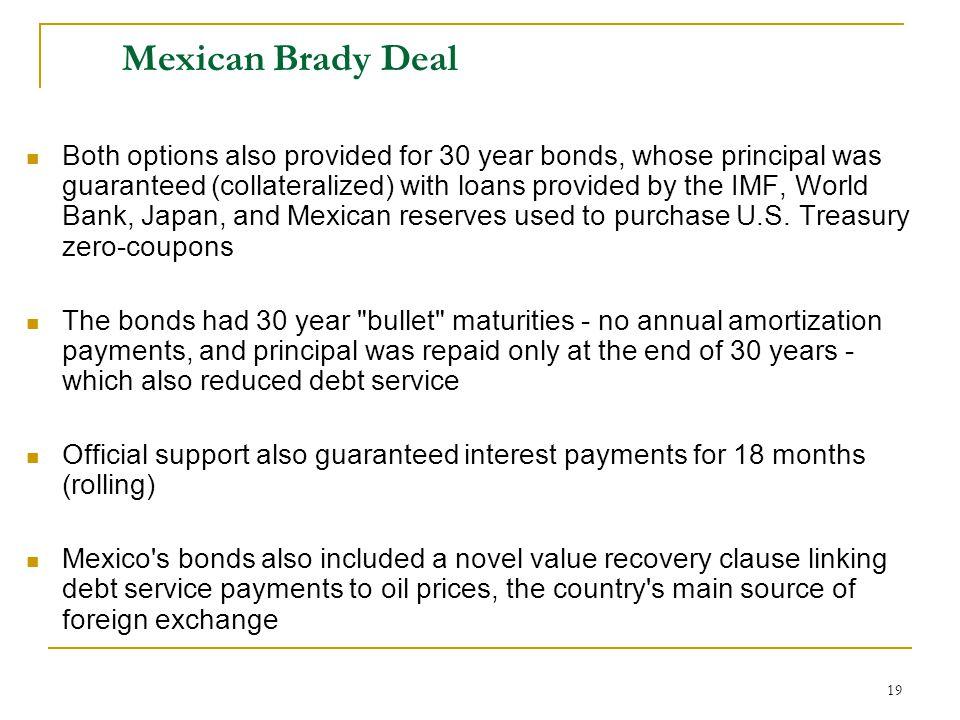 Mexican Brady Deal