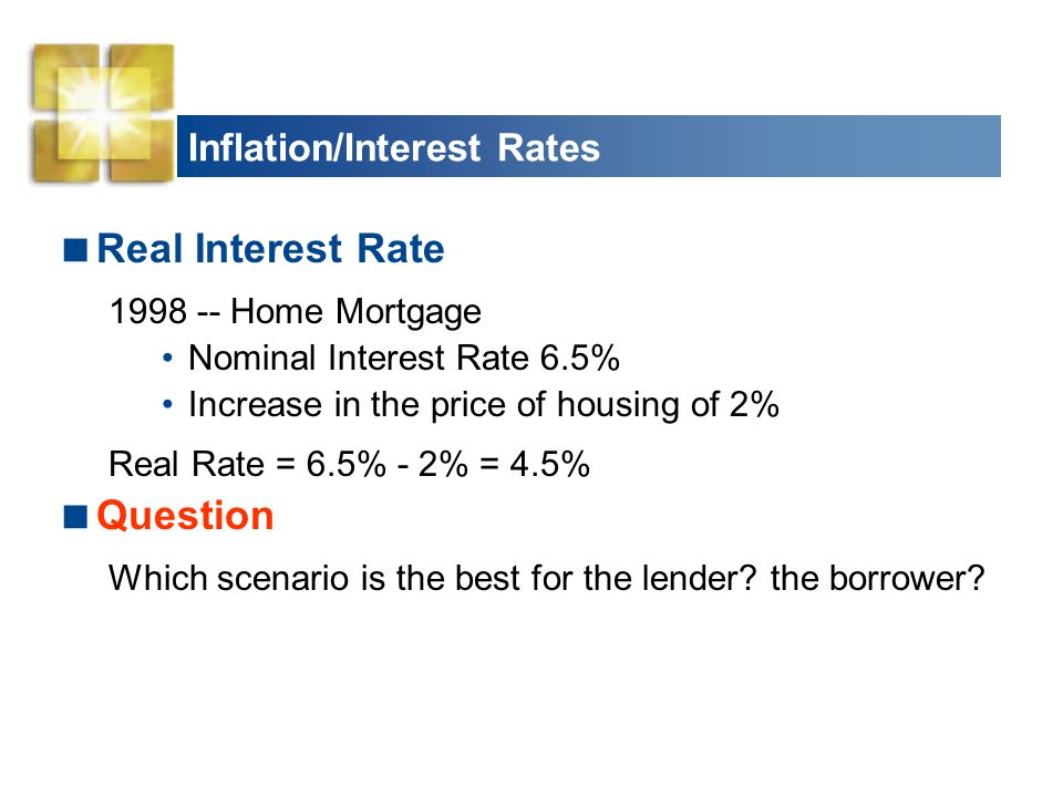 Inflation/Interest Rates