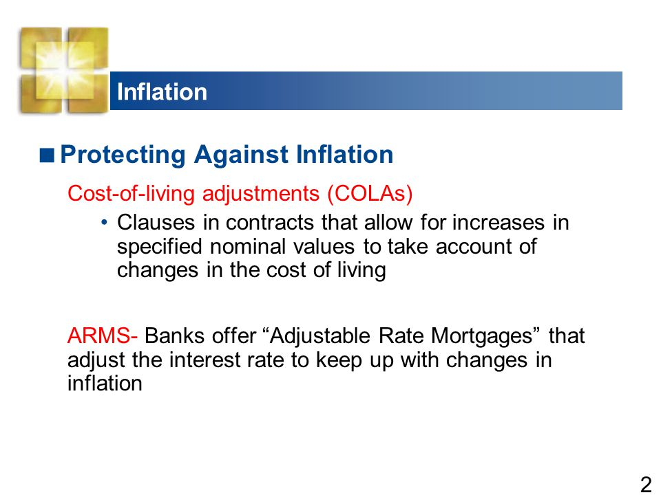 Protecting Against Inflation