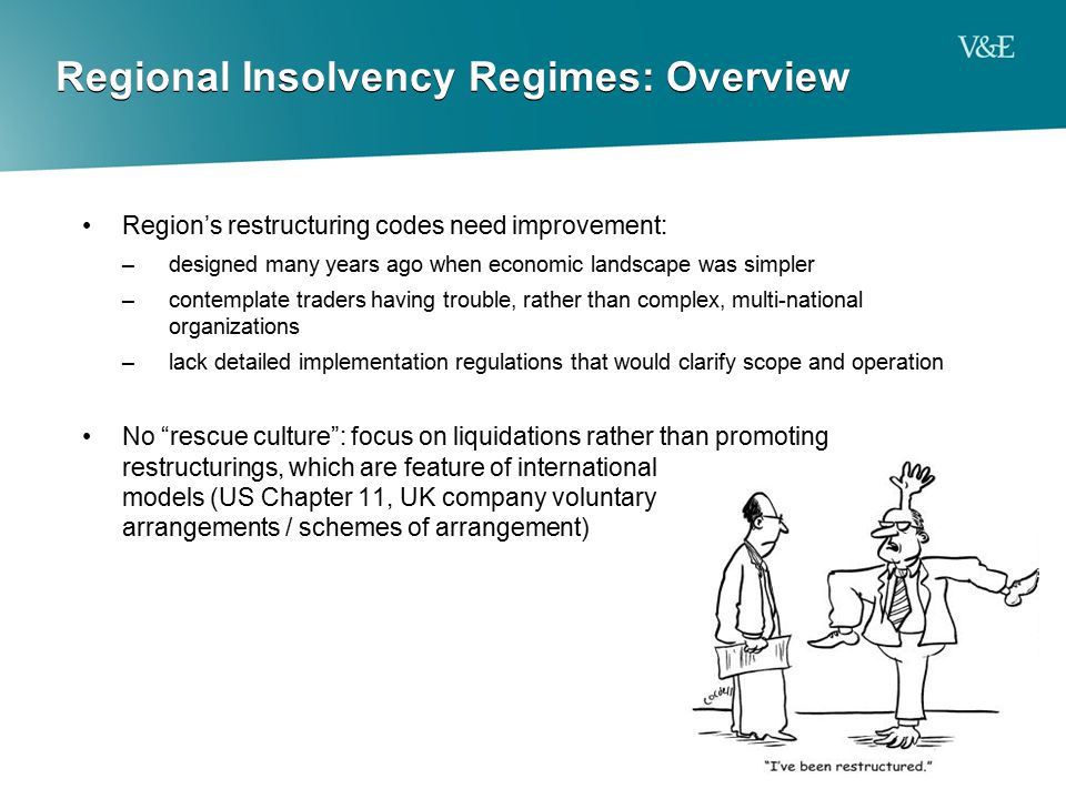 Regional Insolvency Regimes: Overview