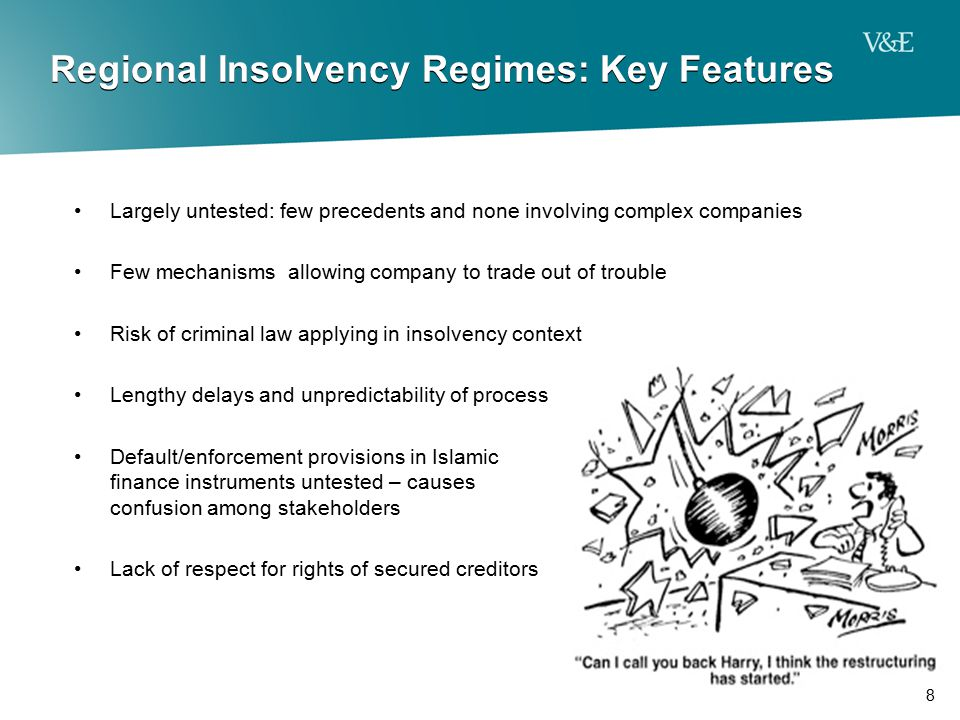 Regional Insolvency Regimes: Key Features