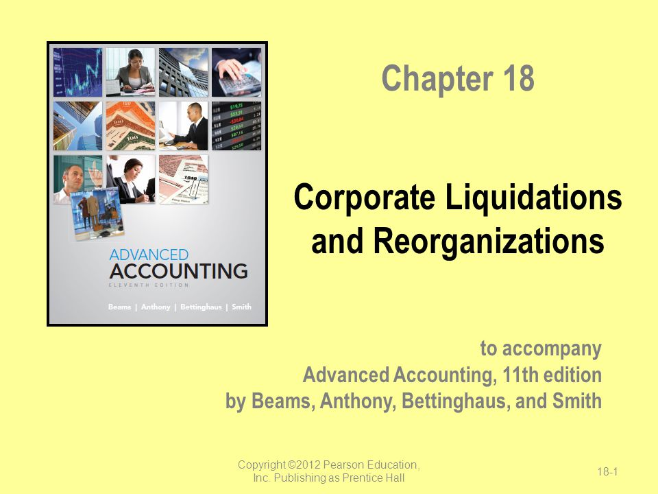 Corporate Liquidations and Reorganizations