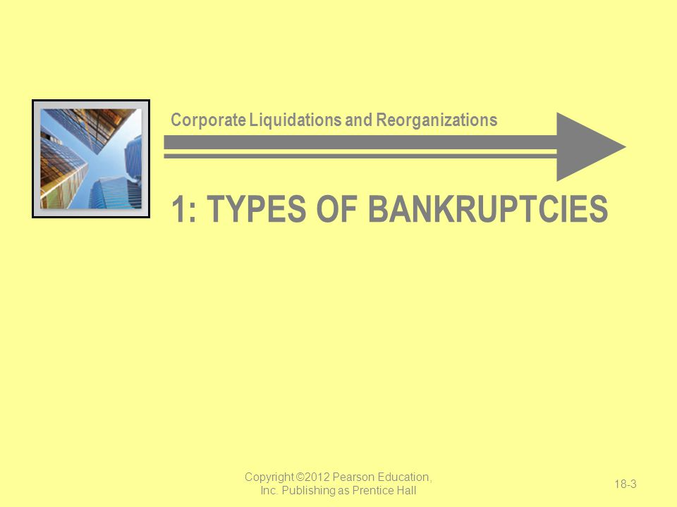 1: types of bankruptcies