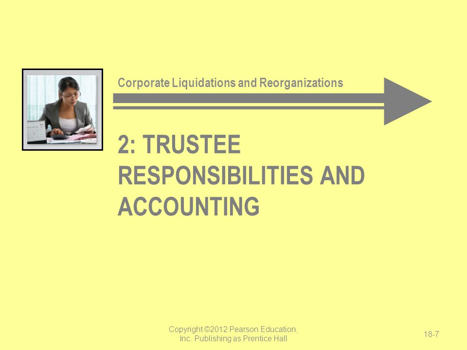 2: trustee responsibilities and accounting
