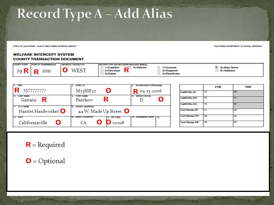 Record Type A – Add Alias