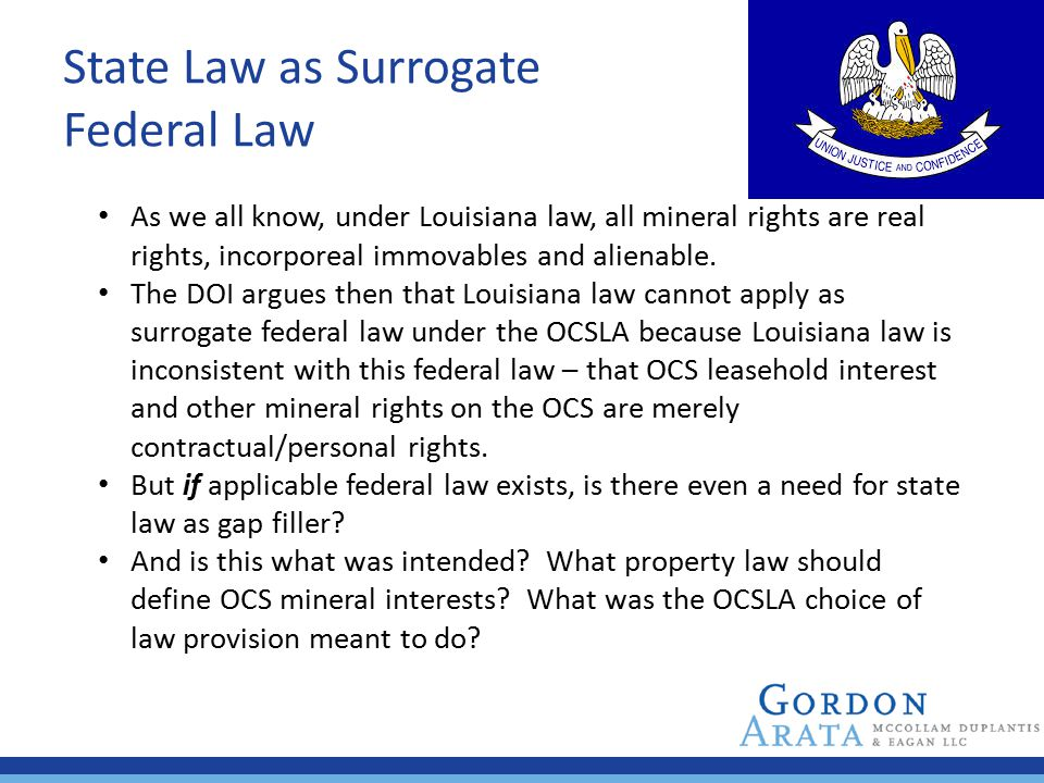 State Law as Surrogate Federal Law