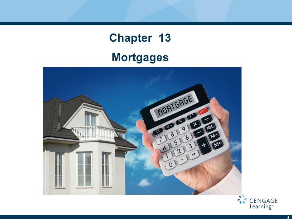 Chapter 13 Mortgages 2