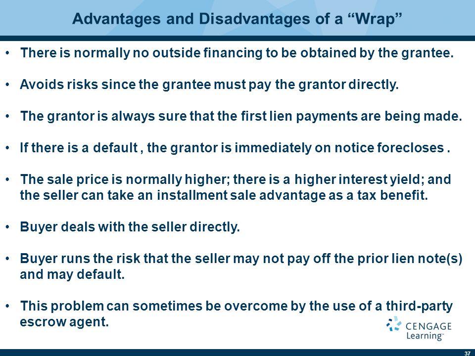 Advantages and Disadvantages of a Wrap
