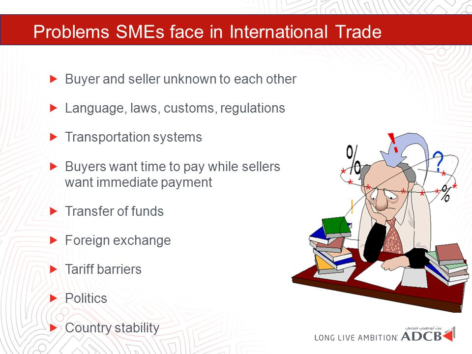 Problems SMEs face in International Trade