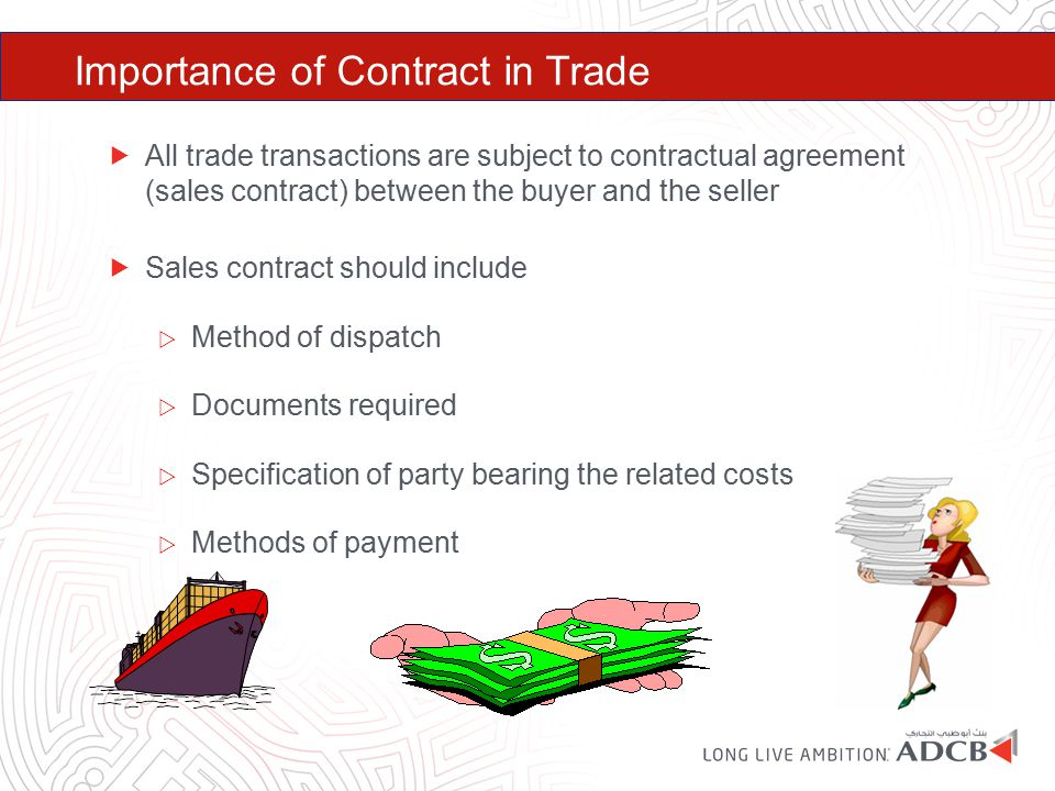 Importance of Contract in Trade