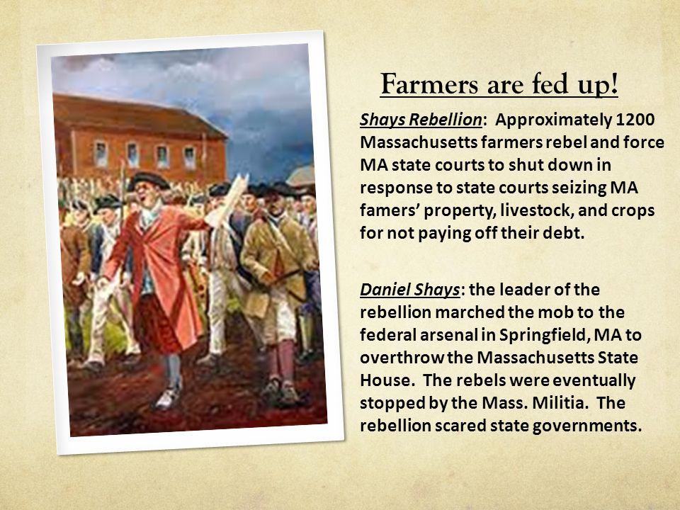 Farmers are fed up!