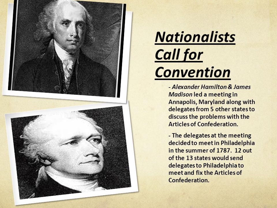 articles from confederation meeting