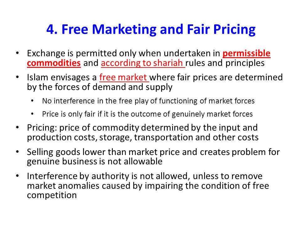 4. Free Marketing and Fair Pricing