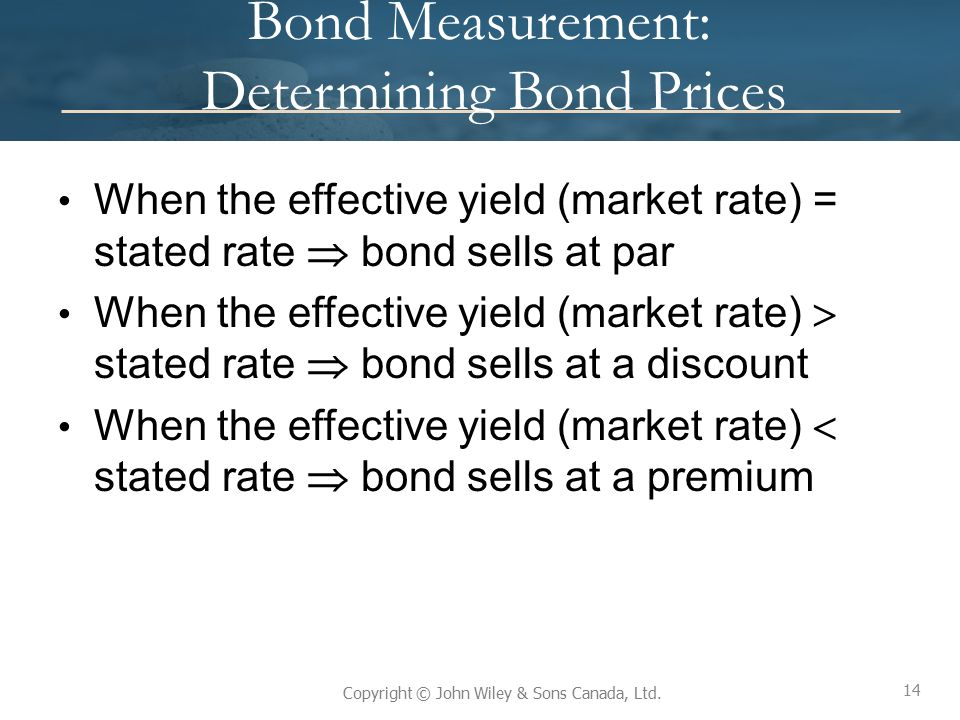 Bond Measurement: Determining Bond Prices