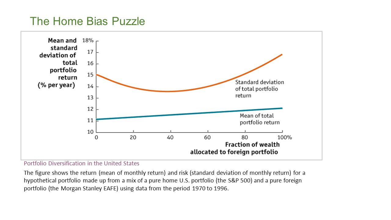 The Home Bias Puzzle Portfolio Diversification in the United States