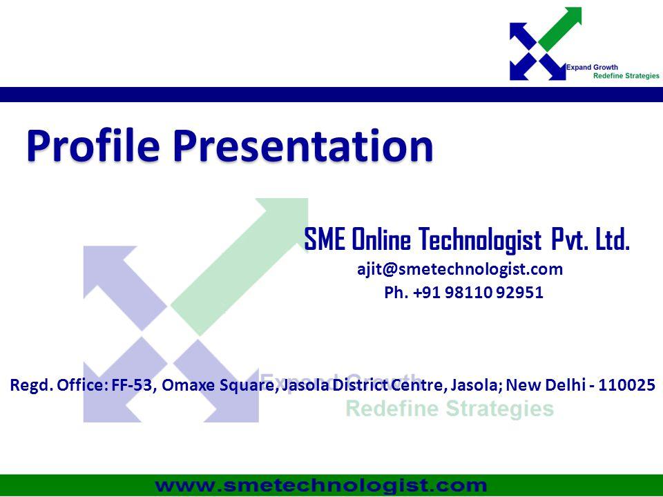 SME Online Technologist Pvt. Ltd.