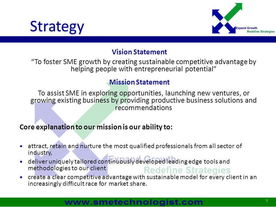 Strategy Vision Statement