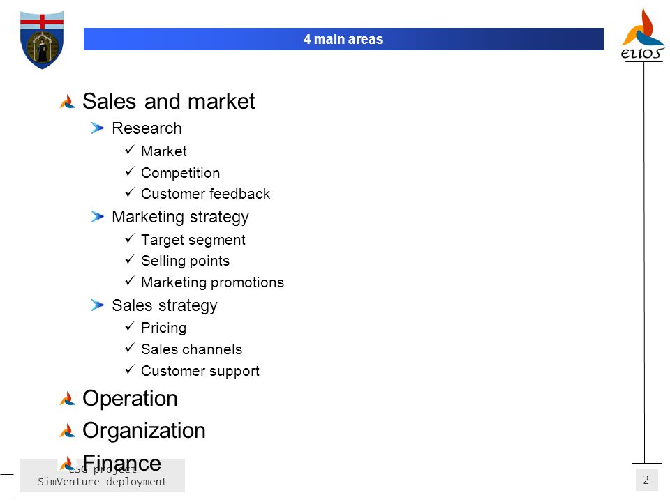 Sales and market Operation Organization Finance Research