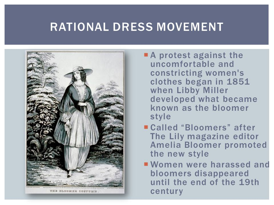 Rational Dress Movement