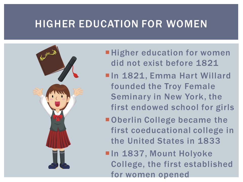 Higher Education for Women