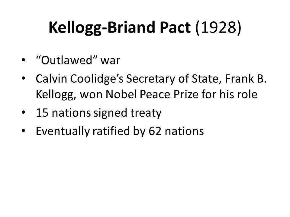Kellogg-Briand Pact (1928)