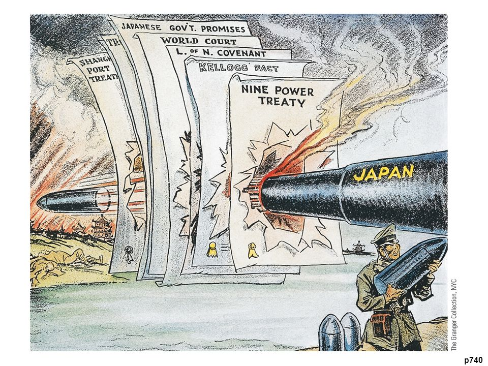 Japanese Aggression in Manchuria This American cartoon lambastes Japan for